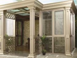 罗马贵族门窗断桥平开窗系统-阳光房系列