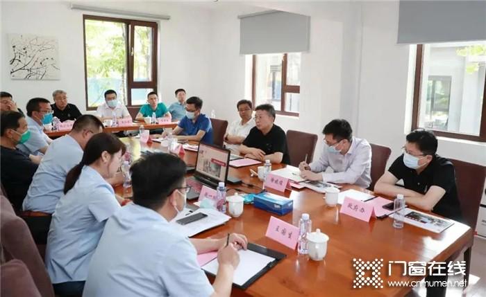 顺义区委副书记、区长龚宗元带队到美驰集团考察调研