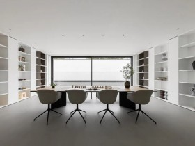 美加德尚极简门窗装修效果图,空间更加纯粹